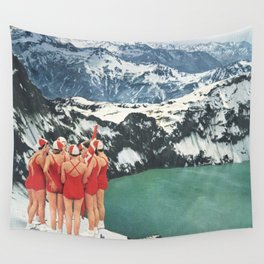 Polar Plunge Wall Tapestry