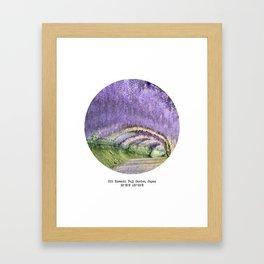 010: Kawachi Fuji Garden Framed Art Print