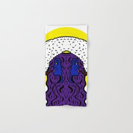 Gemini Goddesses Hand & Bath Towel