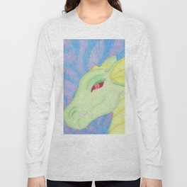 Bright Dragon in pastels Long Sleeve T-shirt