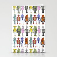 robots Stationery Cards featuring Robots by Annabelle Scott