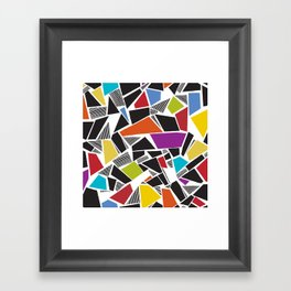 Carnivale Mosaics Framed Art Print