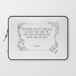 Mountains by biffy Clyro Laptop Sleeve