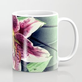 Pink Lily Flower Cottage Chic Modern Country Home Decor A419A Coffee Mug