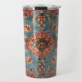 Bidjar Antique Kurdish Northwest Persian Rug Print Travel Mug