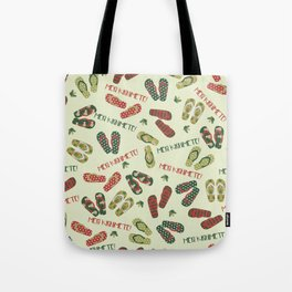 Kiwi Christmas Tote Bag