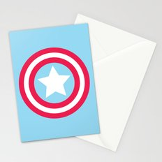 America Pastel Stationery Cards