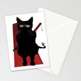 Ninja Cat Stationery Cards