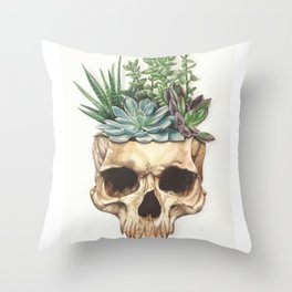 From Death Grows Life Throw Pillow