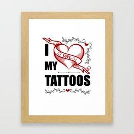Tattoolover Framed Art Print