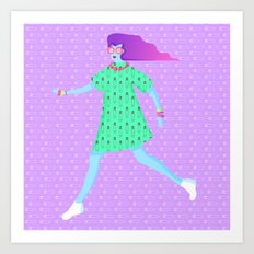 High Fashion, Low Hate Art Print