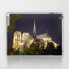 Notre Dame at Night Laptop & iPad Skin