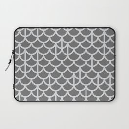 Strict Mermaid Scales Grey Laptop Sleeve