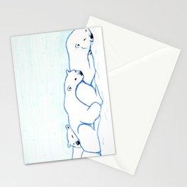 Sleepy Polar Bears Stationery Cards