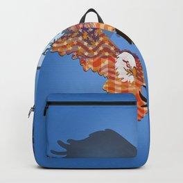 American Eagles Tribute Blue Backpack