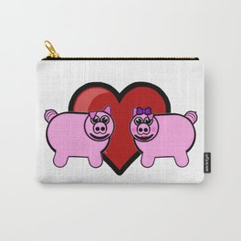 Piggy Love Carry-All Pouch