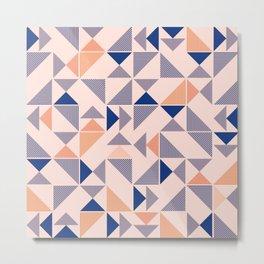 Pink Aztec Pattern (Color) Metal Print