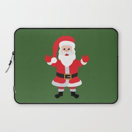 Christmas Santa Claus Says Welcome to You Laptop Sleeve