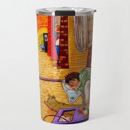 Toy Box Town Travel Mug