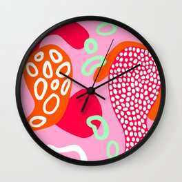 Abstract Madness 01 Wall Clock