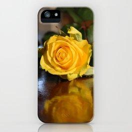 Joyful in Yellow iPhone Case