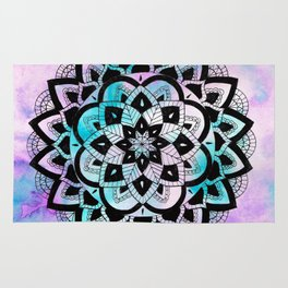 Twilight Mandala Rug