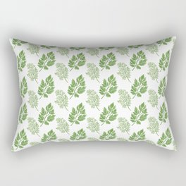Dill and Parsley Rectangular Pillow
