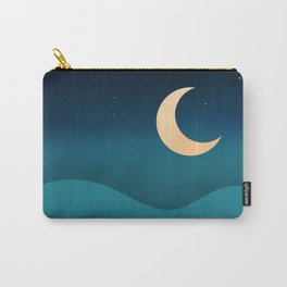 Ocean Moonrise Carry-All Pouch
