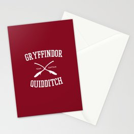Hogwarts Quidditch Team: Gryffindor Stationery Cards