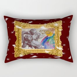 Barocco cocco choco - Variations on the theme of the Baroque Rectangular Pillow