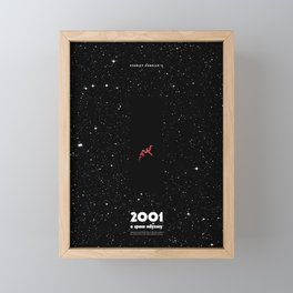 2001 - A space odyssey Framed Mini Art Print