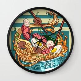 Ramen >< Wall Clock