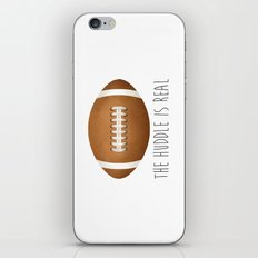 The Huddle Is Real iPhone & iPod Skin