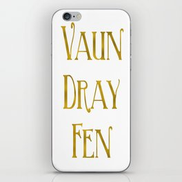 Vaun Dray Fen iPhone Skin