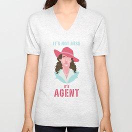 It's Agent Unisex V-Neck