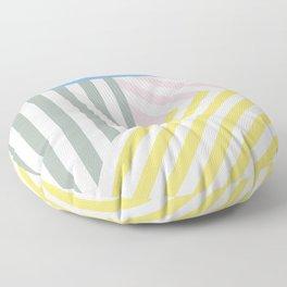 Summer stripes Floor Pillow