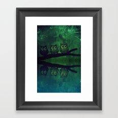 owl-86 Framed Art Print