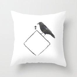 CROOK Throw Pillow