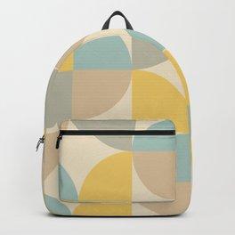 Mid Century Modern Geometric Pattern 467 Backpack