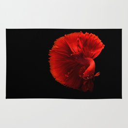 siamese fighting fish #society6 #decor #buyart Rug