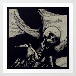 Vebaek hunter Art Print