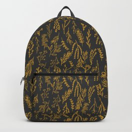 Leaves pattern Backpack