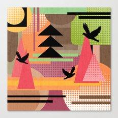 3 Flew Over. Canvas Print