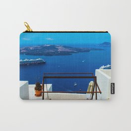 Volcano View,Santorini Carry-All Pouch