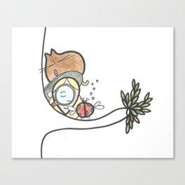 Ladybird Love Canvas Print
