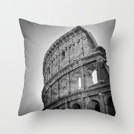 Coliseum Rome. Italy 72 Throw Pillow