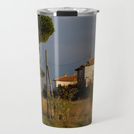 Sunny countryside in Italy Travel Mug