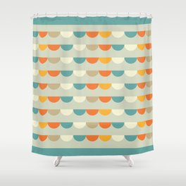 Funfair Retro Vintage Shower Curtain