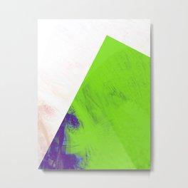 green triangle Metal Print