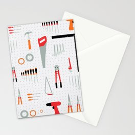 Tool Wall Stationery Cards